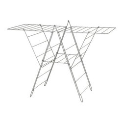 IKEA of Sweden - FROST Drying Rack - This is like the wooden drying rack you had in college, only better. This is the perfect solution for those of us who would love to air-dry laundry more often, but don't have the space for an outdoor clothesline.