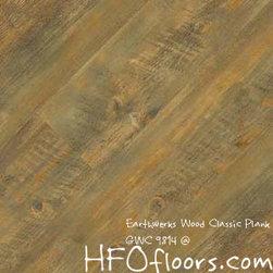Earthwerks Wood Classic Plank - Earthwerks Wood Classic Plank, GWC 9814. Available at HFOfloors.com.