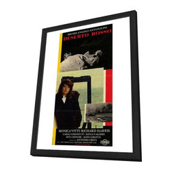Red Desert 27 x 40 Movie Poster - Italian Style A - in Deluxe Wood Frame - Red Desert 27 x 40 Movie Poster - Italian Style A - in Deluxe Wood Frame.  Amazing movie poster, comes ready to hang, 27 x 40 inches poster size, and 29 x 42 inches in total size framed. Cast: Giuliano Missirini