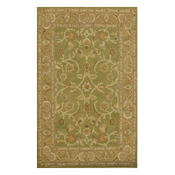 Dynamic Rugs - Dynamic Rugs Sapphire 3.6X5.6 4950-432 Sage/ Light Green - Ancient inspirations brought together with a contemporary color palette define the Sapphire Collection. These rugs are the height of transitional styling with accessible designs and patterning, accented beautifully with rich, updated colors. A gorgeous bridge between the past and present, the Sapphire Collection adds elegance and refinement in a relaxed and relatable atmosphere.