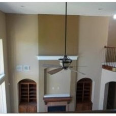 Traditional Family Room by Painting Services By Steve