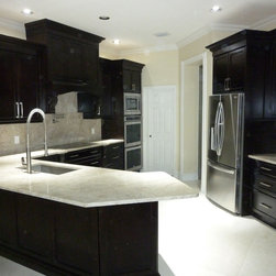 Transitional Kitchen Cabinetry - Custom Kitchen Cabinetry by Designed & Built by Ray LaFauci.