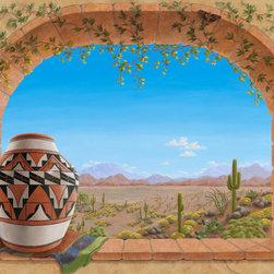 southwestern wallpaper find wallpaper designs online desert southwest tile murals