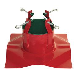 Contech Enterprises - Santa's Solution Supreme Tree Stand (for Trees 7-11 Ft) - Santa's Solution Supreme Tree Stand (For trees 7-11 ft)