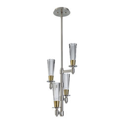 Murray Feiss - Murray Feiss F2818/4 Celebration 4 Light Mini Chandelier - Features:
