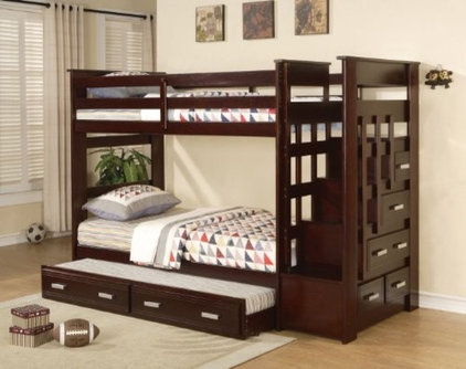 Contemporary Bunk Beds by Sister Furniture