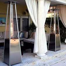 Modern Gas Patio Heater at HomeInfatuation.com.