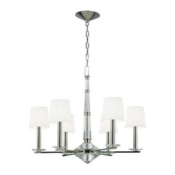 Hudson Valley Lighting - Hudson Valley Lighting 6616 Porter 6 Light Single Tier Chandelier - Product Features: