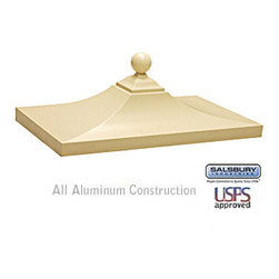 Salsbury Industries - Regency Decorative CBU Top - Sandstone - Regency Decorative CBU Top - Sandstone