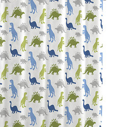 Bambi Dino Park Shower Curtains