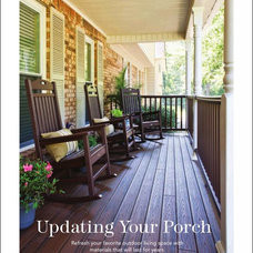 Traditional Porch by Over the Mountain Design & Remodeling