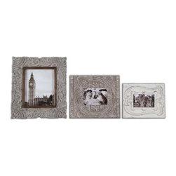 Uttermost - Uttermost - Askan Photo Frames (Set of 3) - 18556 - Uttermost - Askan Photo Frames (Set of 3) - 18556