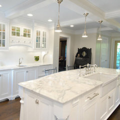 kitchen countertops by Custom Marble &amp; Granite