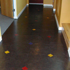 contemporary floors by Globus Cork