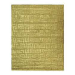 """Safavieh - Contemporary Soho 3'6""""x5'6"""" Rectangle Green - Green Area Rug - The Soho area rug Collection offers an affordable assortment of Contemporary stylings. Soho features a blend of natural Green - Green color. Hand Tufted of Wool the Soho Collection is an intriguing compliment to any decor."""