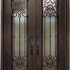 Traditional Front Doors by International Iron and Stone LLC