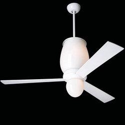 Modern Fan Company - Modern Fan Company | Lumina Ceiling Fan - Design by Ron Rezek.
