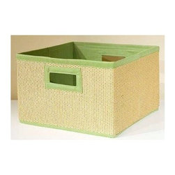 Alaterre Furniture - Links Storage Basket - Set of 3 - Set of 3. Made of woven basket lined with cotton. No assembly required. 1-Year warranty against manufacturing related issues. 13 in. W x 13 in. D x 8.5 in. H (6 lbs.)Storage Baskets come in packaged 3 in a set and are great for organizing and eliminating clutter. Add color and reduce clutter in bookcase or open shelving areas in your home.