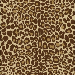 None - Animal Prints Leopard Gold Non-Skid Area Rug (2'0 x 3'3) - Put the fishing touches on your room with this non-skid area rug. This attractive rug features looped nylon low pile construction and rich jewel colors that makes it the perfect accent for just about any space.