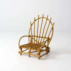 Vintage Children's Adirondack Chair - vintage children's adirondack chair