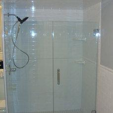 Modern Shower Doors by Paul's Glass Company