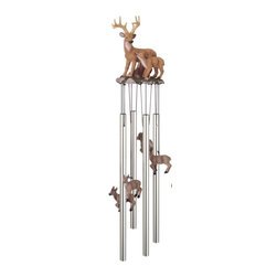GSC - Wind Chime Round Top Deer with Fawn Baby Garden Decoration Windchime - This gorgeous Wind Chime Round Top Deer with Fawn Baby Garden Decoration Windchime has the finest details and highest quality you will find anywhere! Wind Chime Round Top Deer with Fawn Baby Garden Decoration Windchime is truly remarkable.