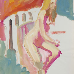 1950-60s Bay Area Figurative Nude Figure by Alysanne McGaffey