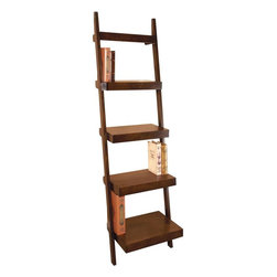 Benzara - Wood Leaning Shelf Multi-Purpose Rack - If you are looking for low cost but rare to find elsewhere decor item to bring extra galore that could refresh the decor appeal of short spaces, beautifully carved 96112 WOOD LEANING SHELF may be a good choice.