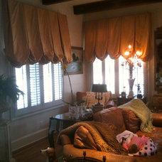 Mediterranean Window Treatments by Curtain Pros