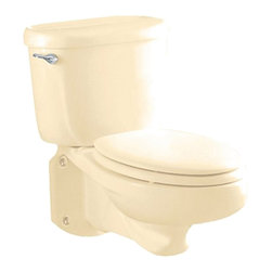 American Standard - American Standard 3402.016.021 Glenwall Elongated Bowl,  Bone - American Standard 3402.016.021 Glenwall Elongated Bowl,  Bone. This elongated bowl is designed for use with the 2093.100 Model Glenwall Pressure Assisted Wall-Mounted Toilet.