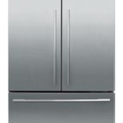 Fisher Paykel - RF201ADX4 20.1 cu. ft. Counter Depth French Door Refrigerator With Glass Shelves - The RF201ADX4 comes with a total of 201 cu ft capacity large enough to store all your groceries with plenty of room left for snacks and drinks The various features of this refrigerator will make sure your food will stay fresh for as long as possible