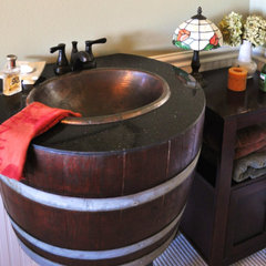 eclectic bathroom sinks by Etsy