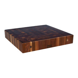 """John Boos - 3"""" Thick Walnut End Grain Counter - 32""""W - American Black Walnut, plus maple, cherry and oak varieties. Choose a standard size or enter custom dimensions for an instant online price quote."""