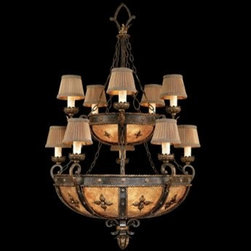 Fine Art Lamps - Fine Art Lamps Castile 428140ST 15-Light 35'' Wide Grand Chandelier - Fine Art Lamps' artistic heritage began in the glass making factory founded by Max Blumberg in New York in the late nineteenth century. In 1940 his son Jack Blumberg gathered the finest designers sculptors and decorative artists to fulfill their vision of becoming the premier lighting manufacturer in the world and Fine Art Lamps was born. From the beginning Fine Art Lamps has achieved a high artistic standard by creating unique and original lighting designs of beautifully handcrafted metal hand-blown glass and other unique materials with exquisite hand applied finishes. In all Fine Art lamps represents the singular vision of over 700 skilled designers artists craftsman and associates working together in five plants totaling over 400000 square feet to create unique works of art for the international design community. An American Manufacturer with International AppealFine Art Lamps has a global market and universal design appeal. From its' Florida facilities Fine Art Lamps lighting travels to every corner of the world destined for the finest homes villas palaces hotels and public spaces.Fine Art Lamps has expertise in foreign wiring requirements covering every continent and customers rely upon the company's International Product Specification Brochure for accurate measurements weights and technical specifications.