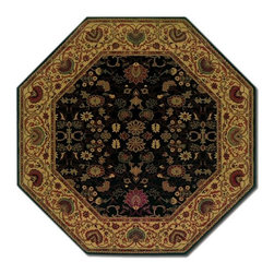 """Couristan - Everest 5'3"""" x 5'3"""" Octagon Traditional - Everest  3773-4876  5.3"""
