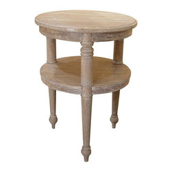 Trade Winds - New Trade Winds Side Table Riverwash Painted - Product Details