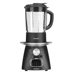 Blend and Cook 4-Speed Soup Maker, Black - My family could not survive without a blender. I even make cake batter in a blender — it's a Brazilian thing. Regardless, blenders are cool. You should totally have one.