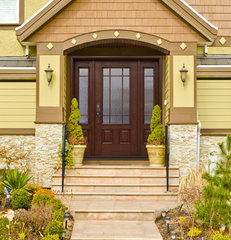 mediterranean front doors by T.D. Becker & Associates, Inc