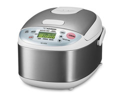 Zojirushi - Zojirushi NS-LAC05 Micom Rice Cooker & Warmer, 3 cup - -Micro computerized Fuzzy logic technology