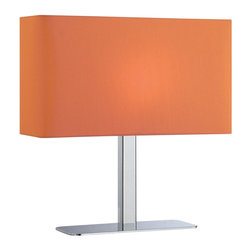 Lite Source - LS-21797C/ORN Lite Source Levon - The levon table lamp takes contemporary to the next level.