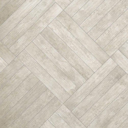 """La Fabbrica - La Fabbrica Seaside Wood Blend Bahamas Light Grey Matte 6.4"""" x 38.5"""" - Seaside is one of the best wood-look series that we have seen. Each tile shows a great attention to detail and is genuinely beautiful. Create a seamless transition between indoor and outdoor flooring with this top notch product."""
