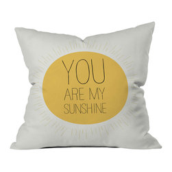 Modern Woven Polyester Throw Pillow Cover - Tell them exactly what they mean to you. This quality throw pillow is perfect for anywhere in their home, and they'll smile and think of you every time they see it. Use with modern décor, or any mid-century retro theme.