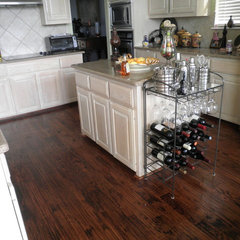 contemporary wood flooring by Perkins Flooring & Design