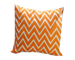 Indoor/Outdoor Pillow Cover In Zapallar Tango, Tango - What a fun way to add color to your space, Love the vibrant color and pattern of this pillow will be perfect for your indoor or outdoor furniture. You can use them on your patio, or by the pool. Same fabric on both sides, with envelope closure. 100% Spun Polyester .This is one of the inexpensive way to add color to your furniture.