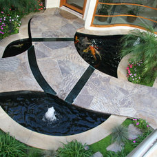 Asian Outdoor Fountains And Ponds by Pure Water Pools, Inc.