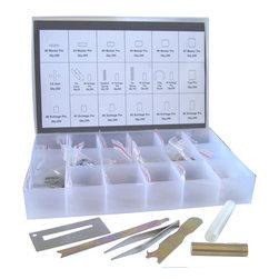 DoorCorner.com - Schlage SR-002 Rekey Pin Kit Locksmith Tool Box - Schlage Rekey Kit Locksmith Tool Box. Includes: