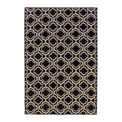 Linon Salonika DB Quatrefoil Area Rug - 5 x 8 ft. - Show off your love of stunning and sophisticated style with the Linon Salonika DB Quatrefoil Area Rug - 5 x 8 ft.. Crafted from 100% wool, this reversible rug in woven construction is made in Greece and is available in your choice of color.About Linon Home DecorLinon Home Decor Products has established a reputation in the market for providing the best trend-right products at the right price, while offering excellent quality, style and functional furnishings to every room in the home. Linon offers a broad selection of furnishings for today's discriminating and demanding retail environments. They offer outstanding values for every room; a total commitment of quality, service and value that is unsurpassed in their industry.
