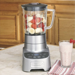 Cuisinart PowerEdge Blender - Having a blender which won't handle crushing ice, making smoothies or margaritas, is a waste of money. This Cuisinart will do just the trick, with multiple functions, a big pitcher and power to spare.