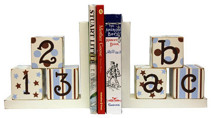 Contemporary Bookends by Toys R Us