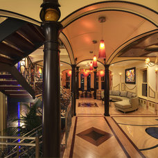 Traditional Staircase by Constantine D. Vasilios & Associates Ltd